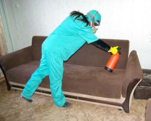 Обработка химикатами