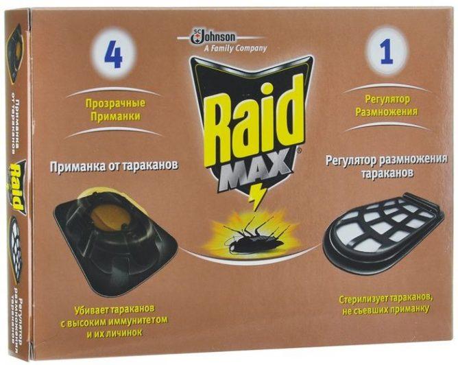 Приманки для тараканов