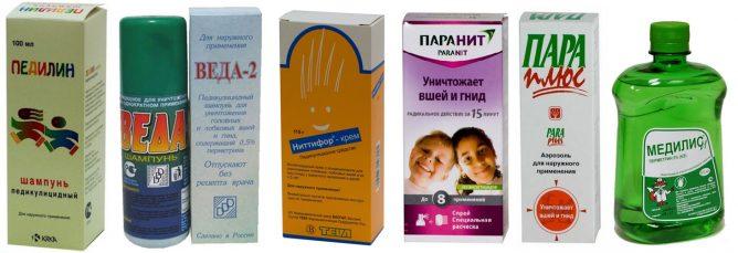 Противопедикулезные препараты