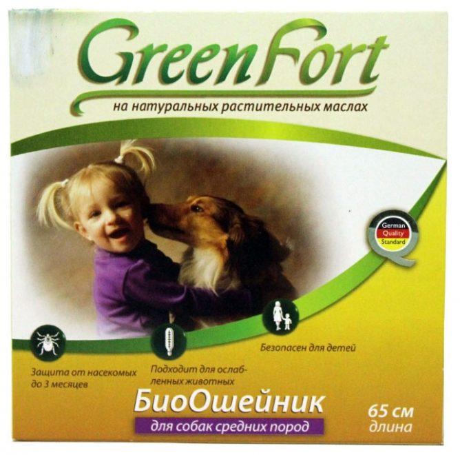Green Fort ошейник