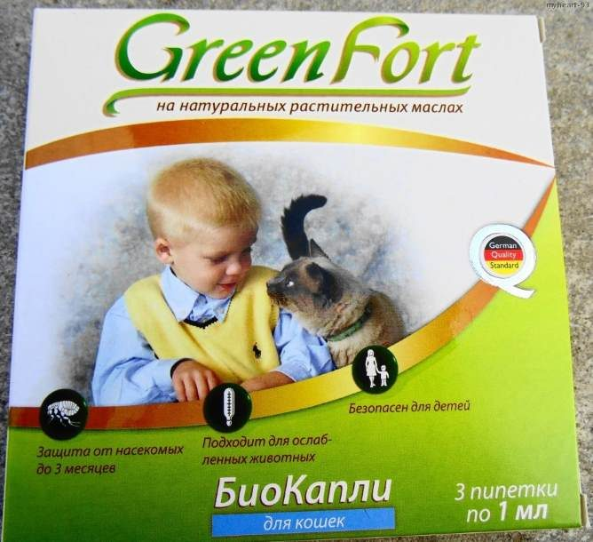 Green Fort капли
