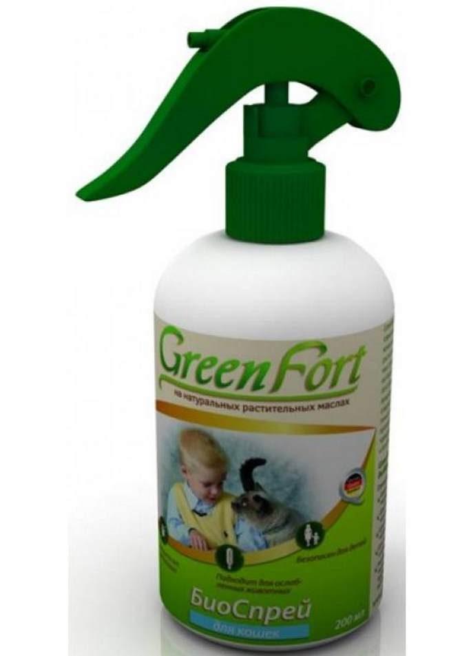 Green Fort спрей
