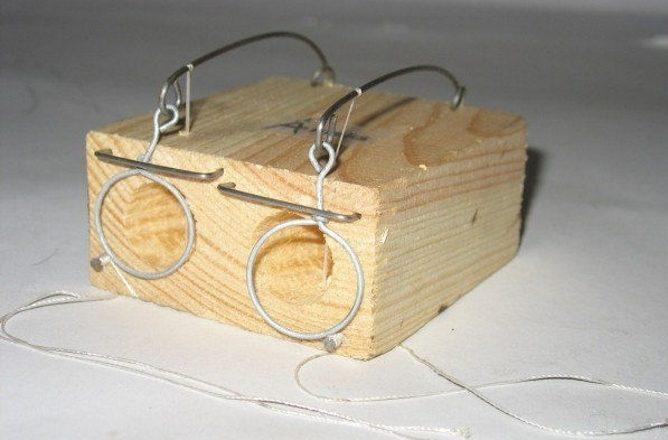 деревянные мышеловки